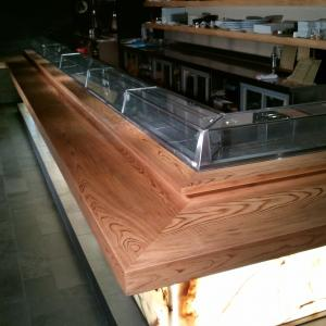 Commercial bar and table refinishing san diego. licensed contractor gaslamp SD
