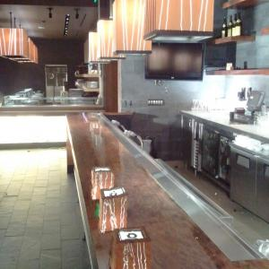 Nobu inside Hard Rock Hotel San Diego. Fully refinished bars and tables.