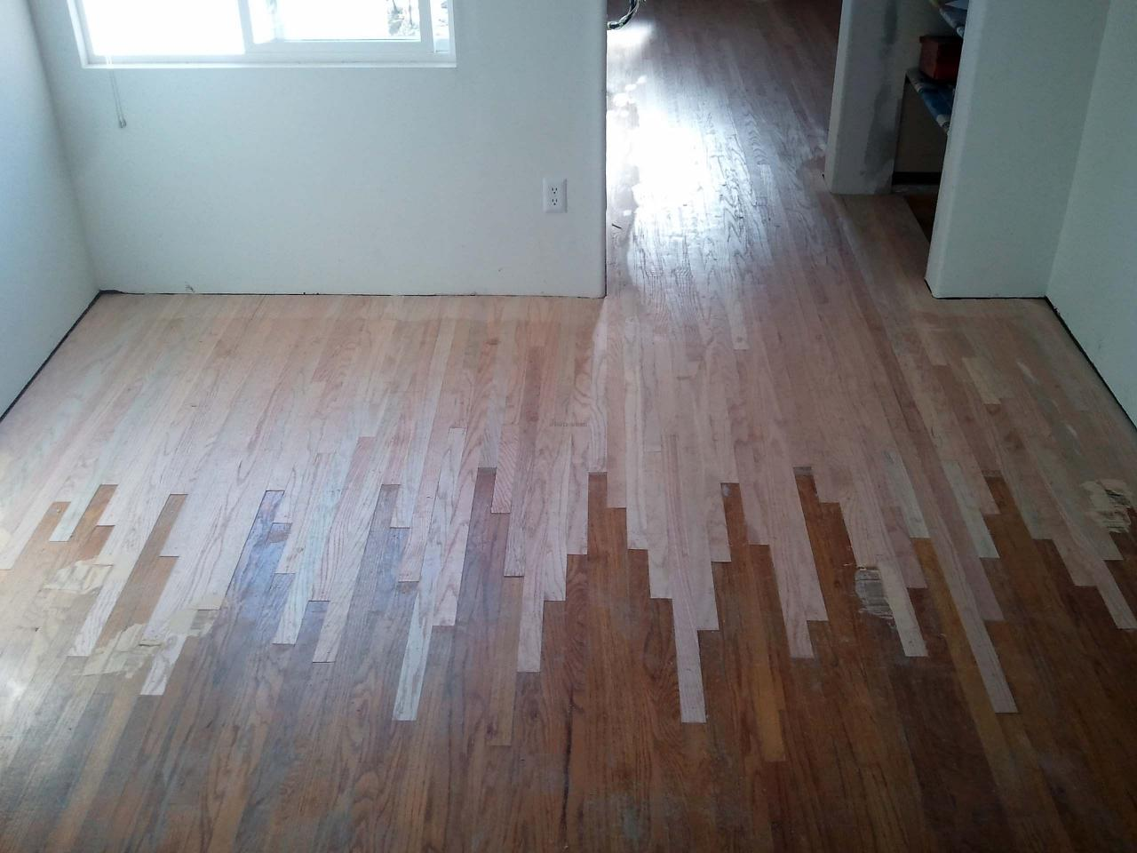 San diego hardwood flooring wood floors for Bleach on concrete floor