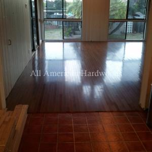 Installation of solid Hardwood Floors San Diego. Licensed contractor dust free
