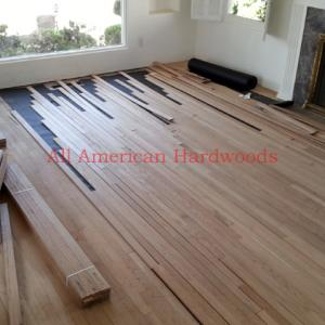 strip red oak installation repair refinishing san diego licensed contractor