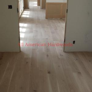 French Oak installation in la jolla san diego by licensed contractor