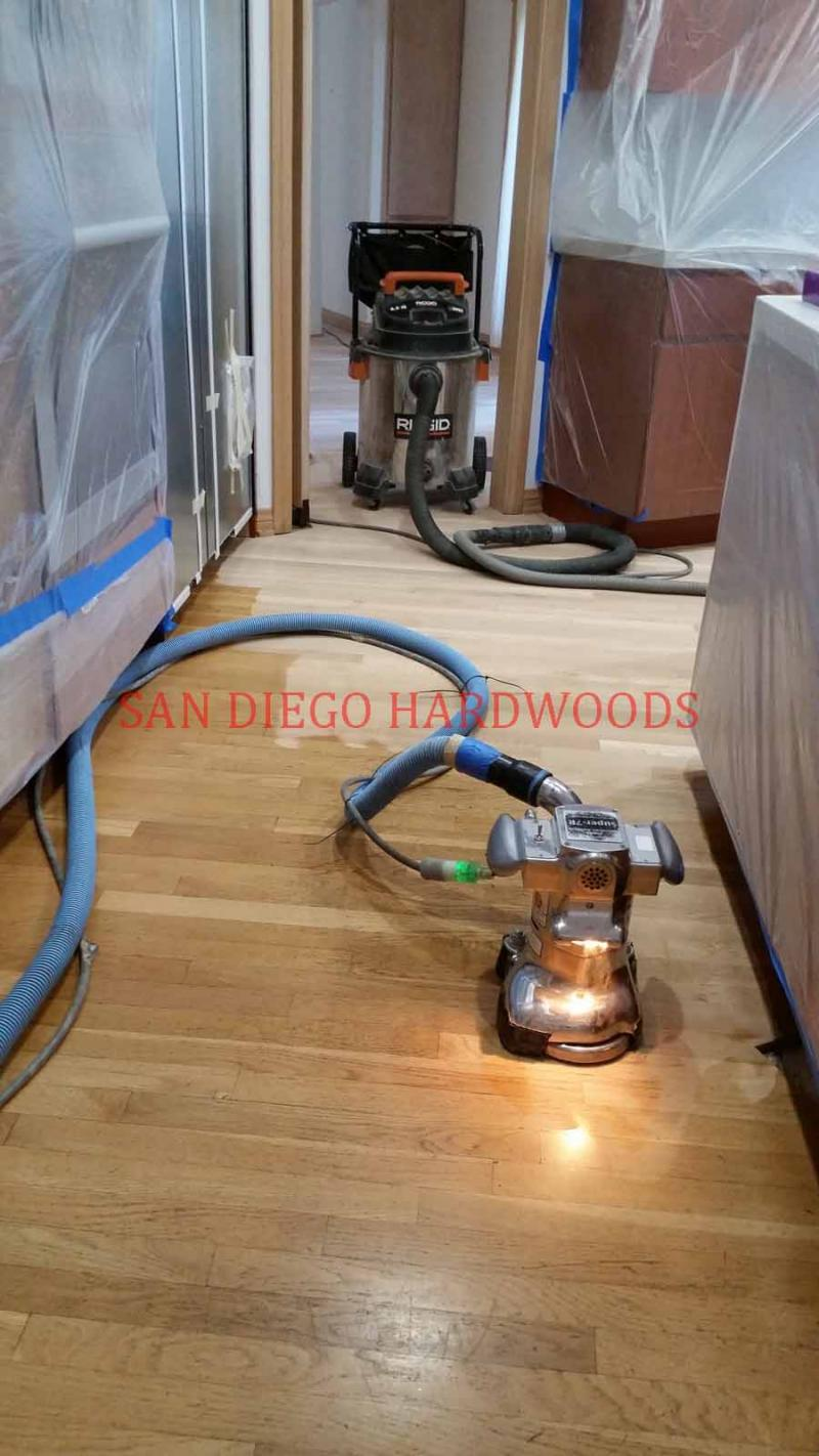 DUST FREE WOOD FLOOR REFINISHING SAN DIEGO CA LICENSED CONTRACTOR