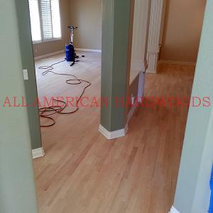 Oak Floor sanding and refinishing in San Diego. Fully Licensed contractor