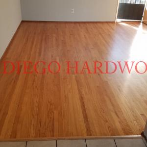 RED OAK FLOOR REFINISHING IN SAN DIEGO COUNTY. LICENSED PROFESSIONALS