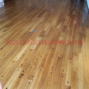 SOLID OAK FLOOR REFINISHING IN SAN DIEGO COUNTY. LICENSED FLOORING CONTRACTOR