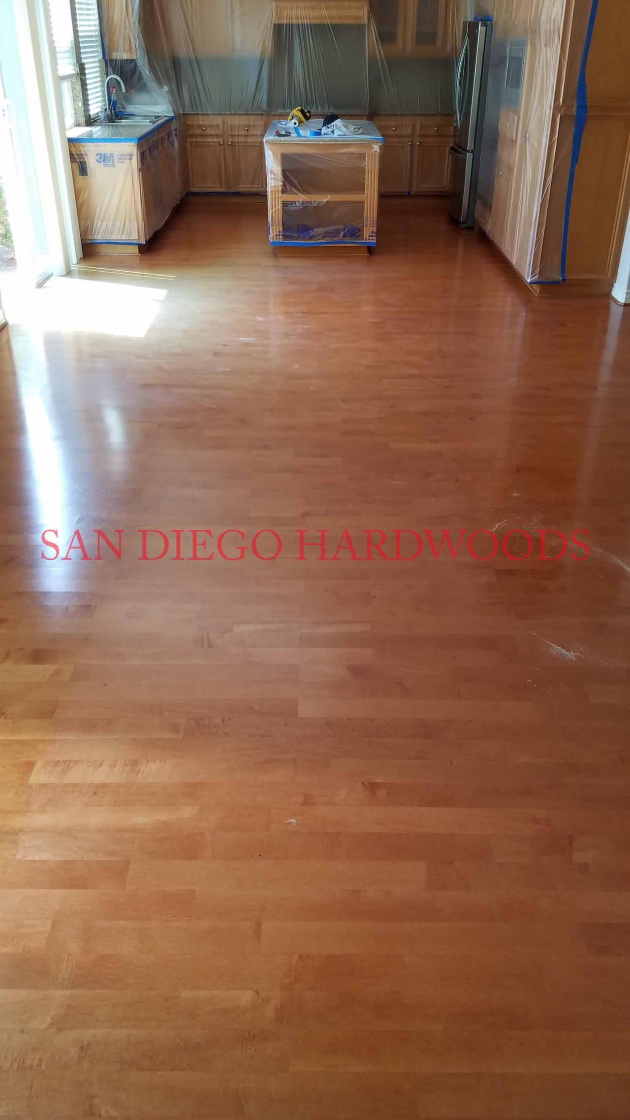 SAN DIEGO HARDWOOD FLOOR RESTORATION 858 699 0072 LICENSED