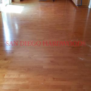 Professional wood floor service in San Diego. Fully licensed contractor in SD