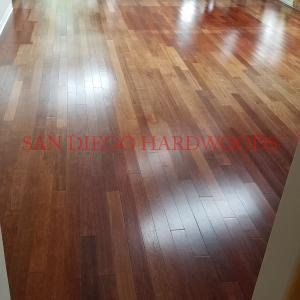 Complete wood floor removel and installation in San Diego