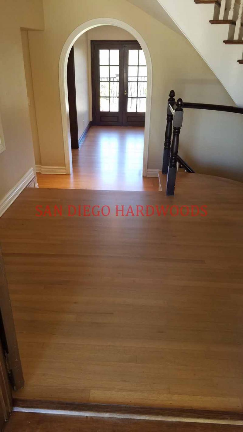 Rancho Sante Fe Hardwood Floor Refinishing Contractor. Wood Floor Refinish rsf