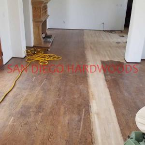 Restore oak flooring mission hills san diego. Solid oak floor refinishing