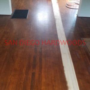 San Diego Hardwood Floor Refinishing and Repairs. Vintage Wood Floor sanding