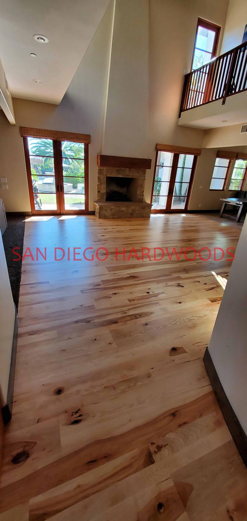 HICKORY HARDWOOD FLOOR REFINISHING SAN DIEGO CARMEL VALLEY DUST FREE SYSTEM