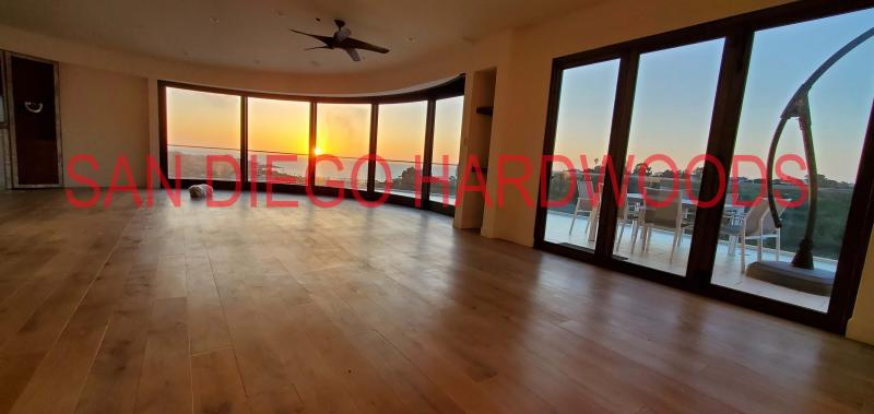 LA JOLLA WOOD FLOOR REFINISHING WITH DUST CONTAINMENT SYSTEM