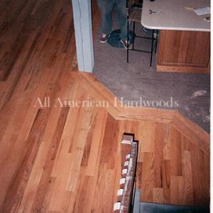 Common red oak floor refinishing san diego. licensed flooring contractor SD