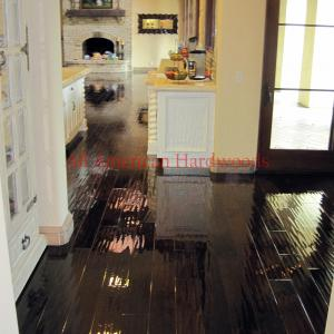 Rancho Sante Fe engineered wood flooring serviced by licensed contractor