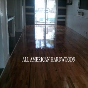 North county wood floor service. Dust free service. Licensed contractor