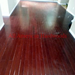Solid Bamboo Floor Refinishing in San Diego. Licensed Flooring Contractor in SD