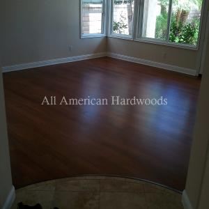 Bona Traffic polyurethane finish. San Diego Hardwood Floor Refinishing. Licensed