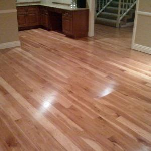 Refinish HIckory flooring san diego. licensed flooring contractor dust free SD