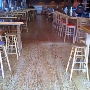 Downtown San Diego Wood Floor refinishing. Licensed flooring contractor in SD