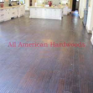 Rancho Sante Fe wood floor repair and refinishing. Licensed flooring contractor