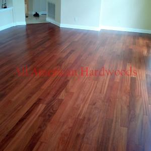 Completely finished Cherry Floor in a Sorrento Valley home.